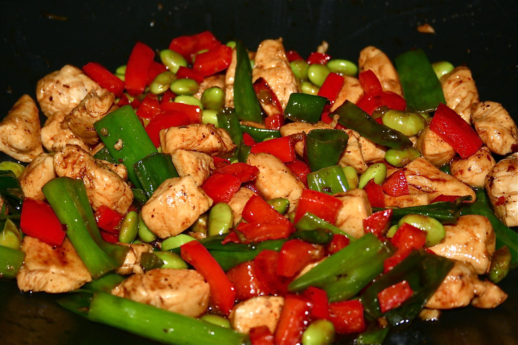 ... chicken the chicken noodle salad kung pao chicken sichuan style stir
